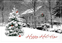 Snowy Mill Holiday Cards