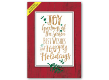 Greetings of Plenty Holiday Cards