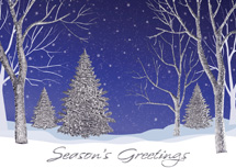 Sterling Silhouettes Holiday Cards