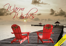 Boardwalk Greetings Holiday Cards